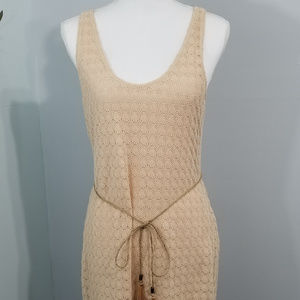 SANCTUARY  Cream Beige Dress LARGE